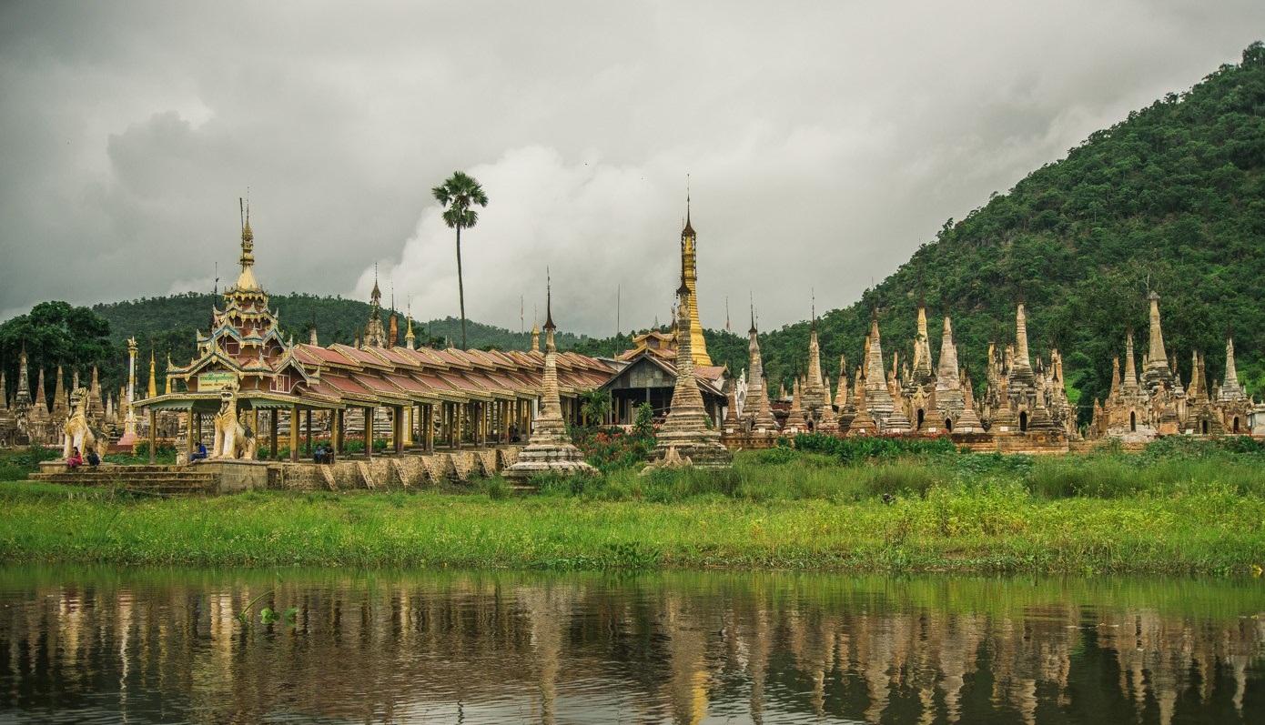 Chùa Tharkong, Hồ Inle