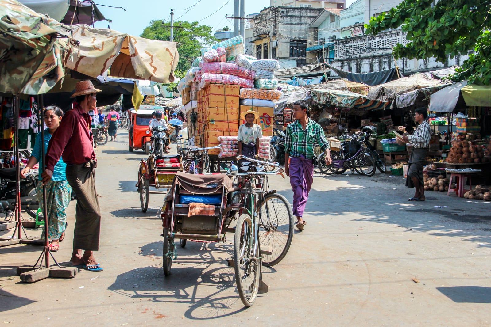 Hướng dẫn du lịch Myanmar