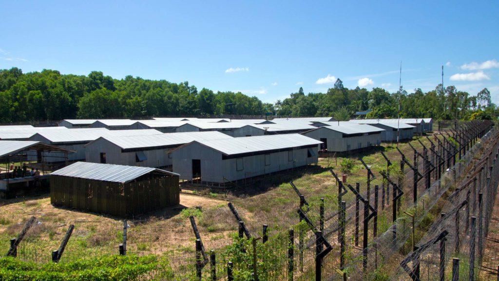 Nhà tù nơi chứa nhiều di tích lịch sử
