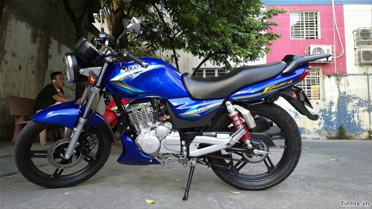 Xe máy đi phượt chính hãng Suzuki EN 150A