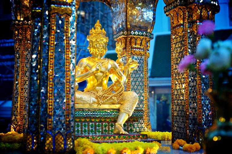 tượng phật 4 mặt Thái Lan