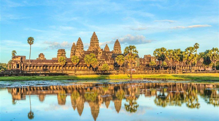 Du lịch Campuchia bằng máy bay