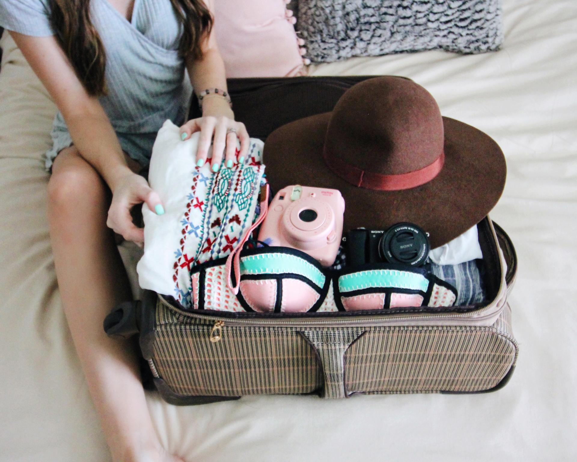 set đồ du lịch