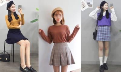 cách ăn mặc đẹp của học sinh