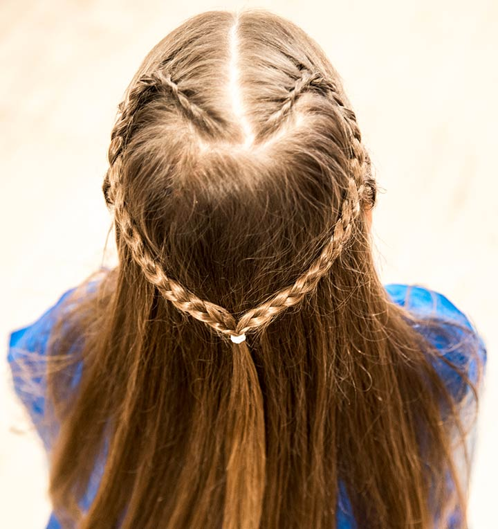 các kiểu tóc cho bé gái