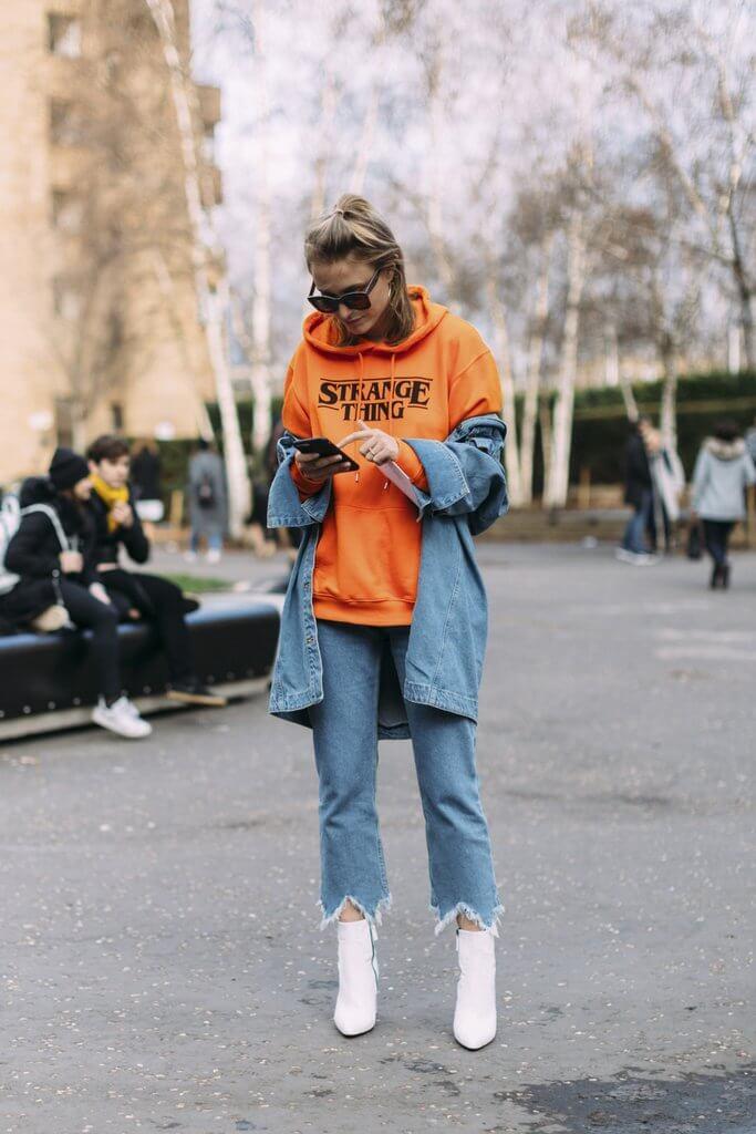 mặc hoodie có nên mặc áo trong